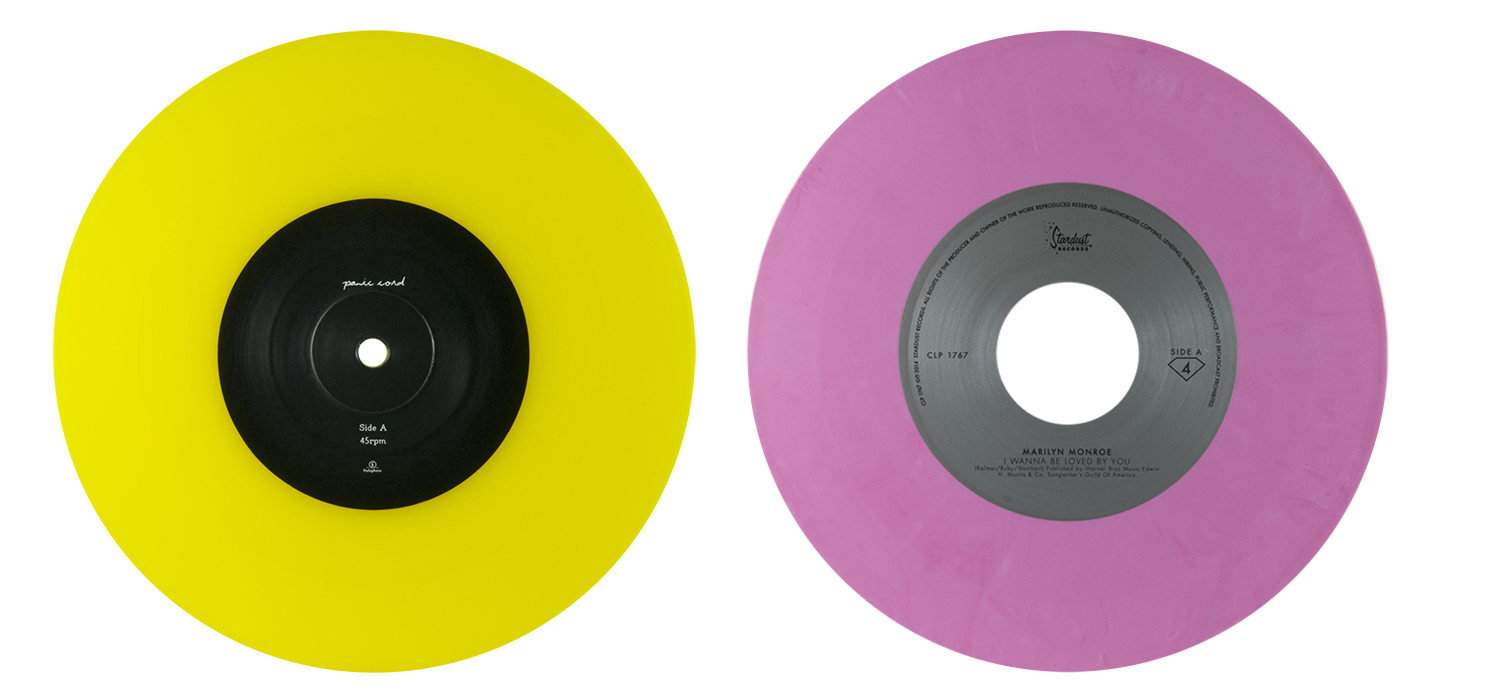 colored vinyl row 1