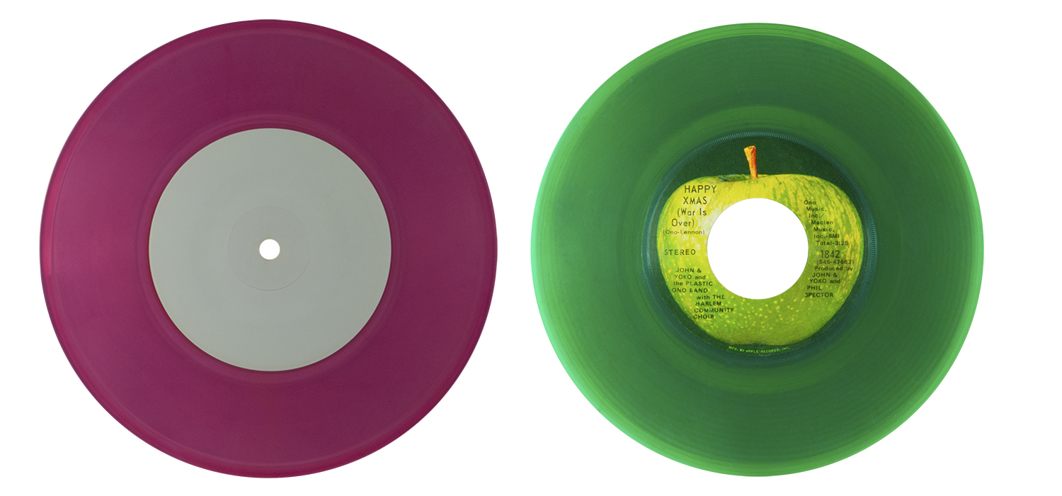 colored vinyl row 3